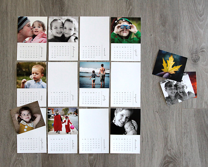 Free Printable 2016 Mini Diy Photo Calendar Great Gift