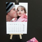 free printable 2016 mini DIY photo calendar {great gift idea!}