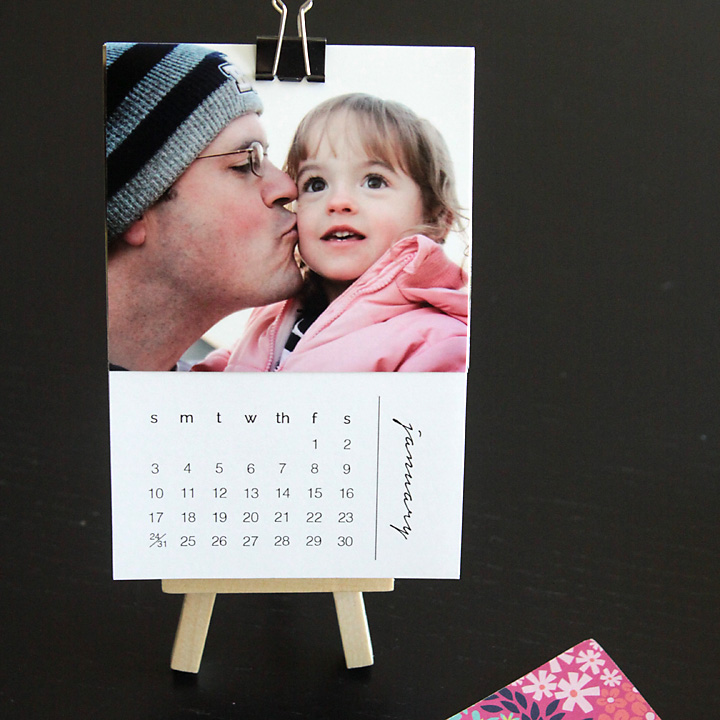 Free Printable 2016 Mini Photo Calendar Personalize It With Your Own Photos For An Easy