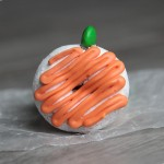 donut pumpkins {fun & easy kids Halloween food craft}