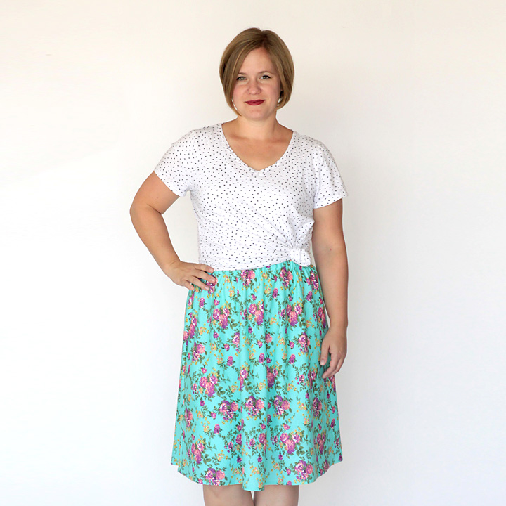the everyday skirt simple sewing tutorial