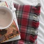 easy DIY fringed flannel throw {great gift idea!}
