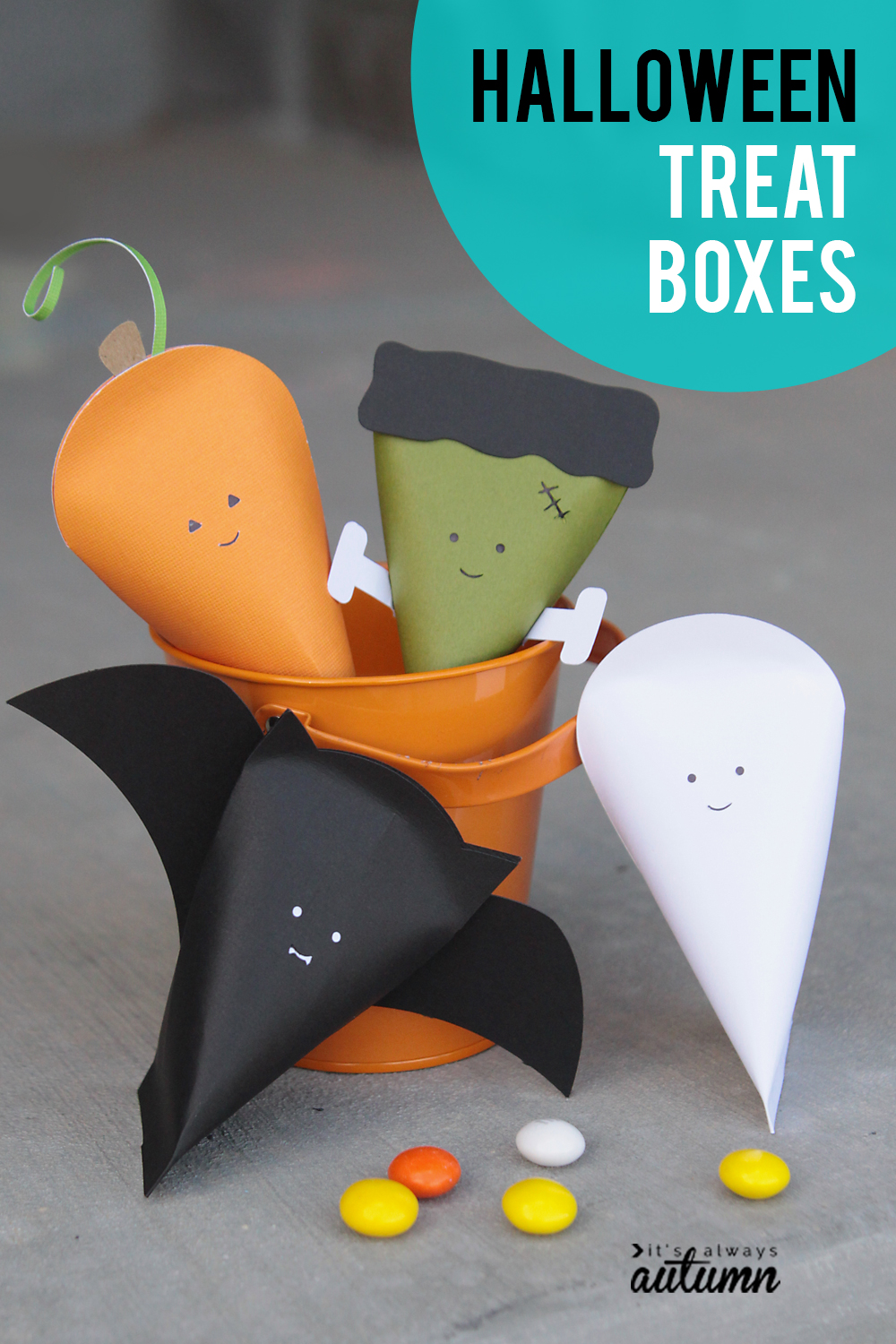Cute little Halloween treat boxes!