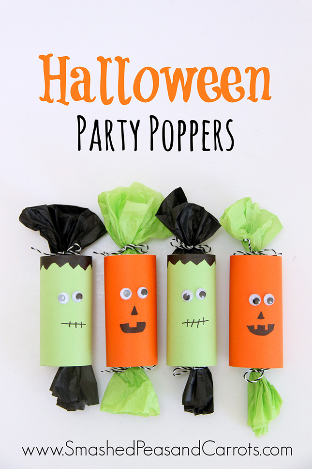 20 cute easy diy halloween treat bags and boxes it 39 s for Halloween party favor ideas