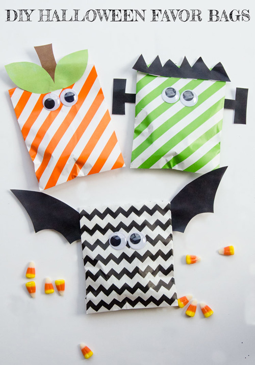 15 Great Diy Halloween Treat Bags And Boxes