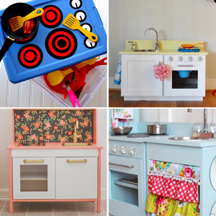 20 Coolest DIY Play Kitchen Tutorials