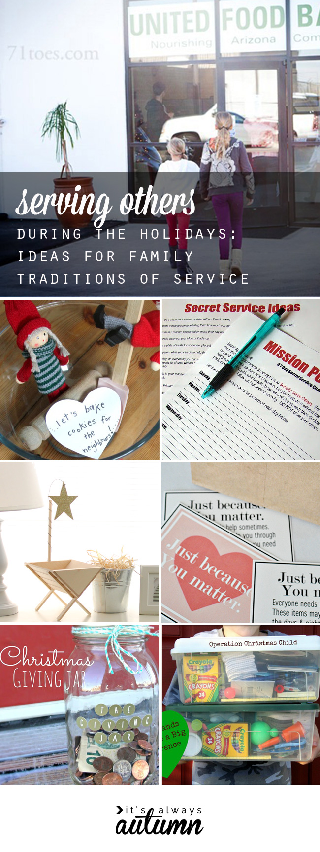 Scrapbook ideas for elderly - Focus On Giving Not Getting This Holiday Season With These Thanksgiving And Christmas Traditions Of