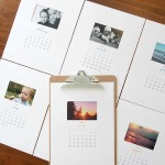 free printable 2016 photo calendar {great DIY gift idea!}