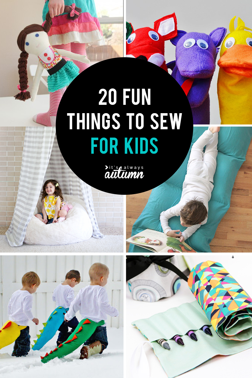 Christmas Gift Ideas For Kids Diy.25 Coolest Things To Sew For Kids It S