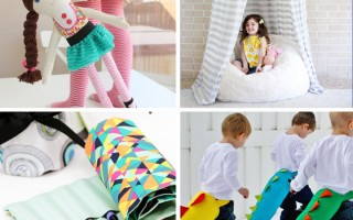 25 coolest things to sew for kids {DIY gift ideas!}
