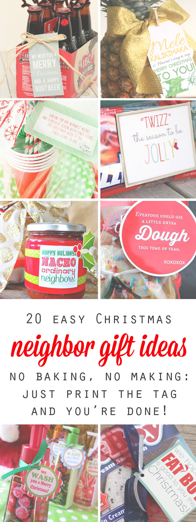20 quick, easy, and cheap neighbor gift ideas for Christmas - It\'s ...
