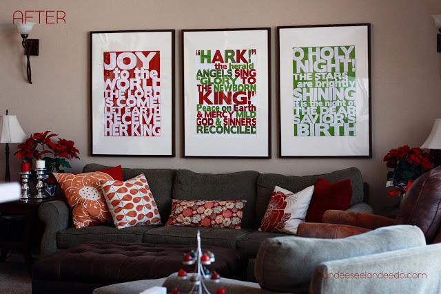 Christmas Wall Decor Printables : Beautiful modern free christmas prints it s always