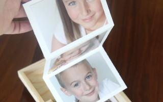 easy & cheap DIY gift idea: photo gift box