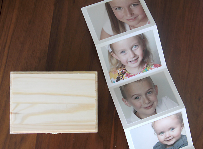 Easy cheap diy gift idea photo gift box it 39 s always for Meaningful gifts for dad from daughter
