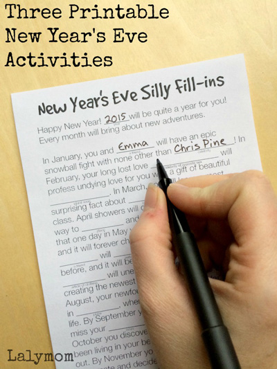 Fun Things To Do On New Years