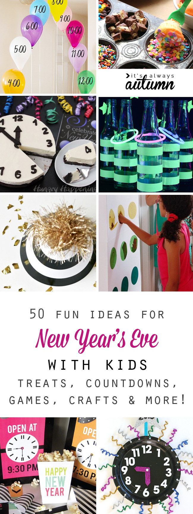 50 best ideas for celebrating New Year\'s Eve with kids - It\'s Always ...