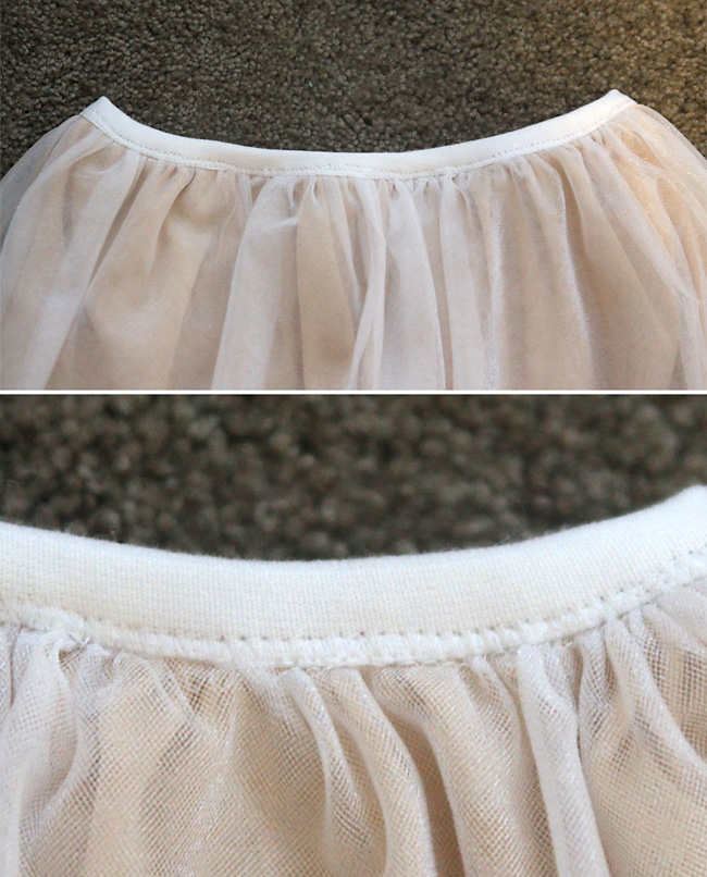 Little girl s party skirt how to sew a long tulle