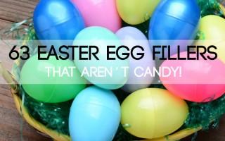 Easter egg filler ideas that aren't candy!