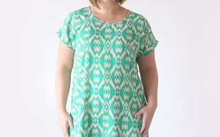 the breezy tee tunic | free sewing pattern