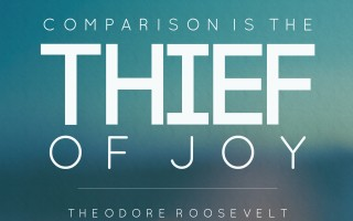 how comparison steals our joy {and how to get it back}