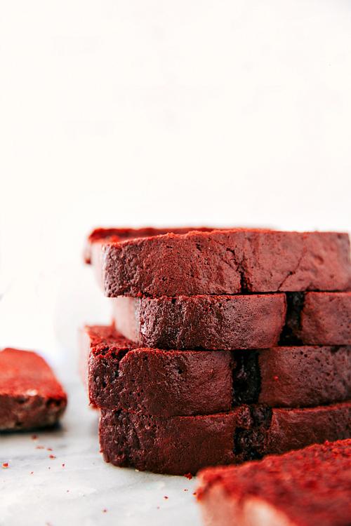 Red Velvet Bars Using Cake Mix