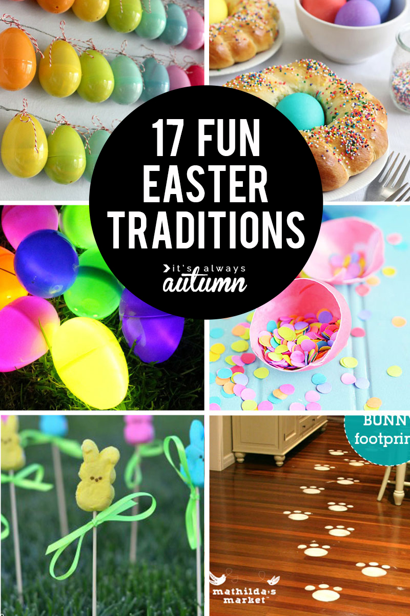 17 fun Easter family traditions to start this year! Easter traditions for kids, Easter traditions for Christians.