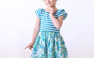 """the """"hello spring"""" girls' dress 