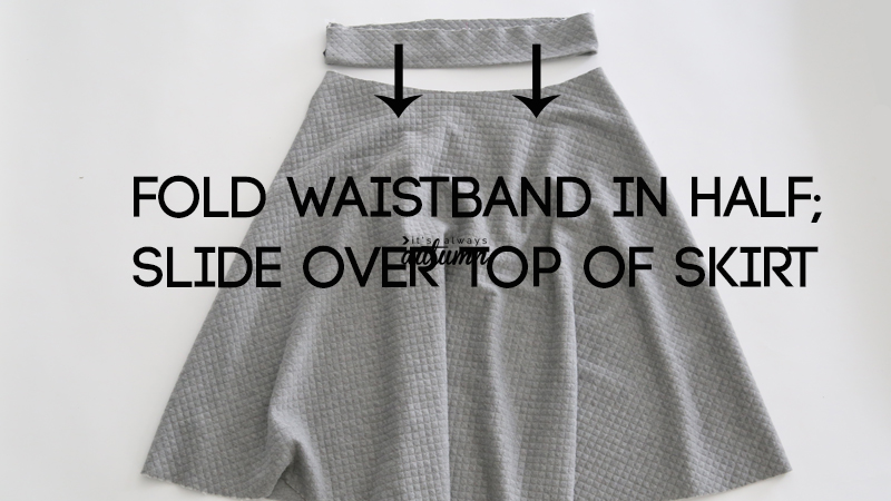 Easy half circle skirt sewing tutorial - make a pattern in any size ...