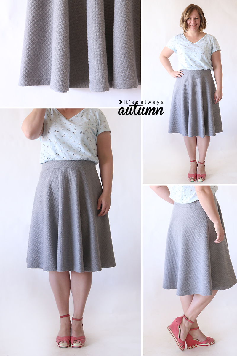 Easy Circle Skirt Pattern 2