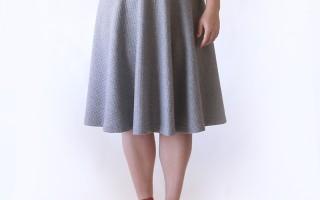 easy half circle skirt sewing tutorial