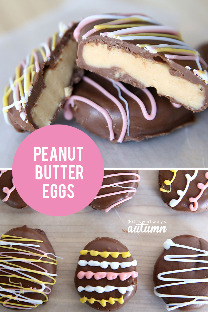 homemade peanut butter eggs {4 ingredients} - It's Always ...
