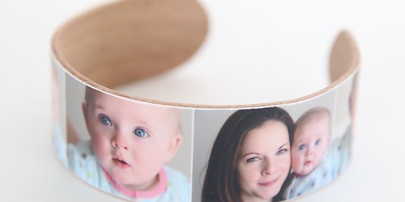 DIY popsicle stick photo bracelet & PSE giveaway
