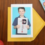 photo gift card holder | fun teacher appreciation idea