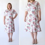 the easy tee swing dress | simple sewing tutorial