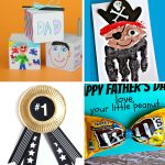 father's day cards + gifts kids can make