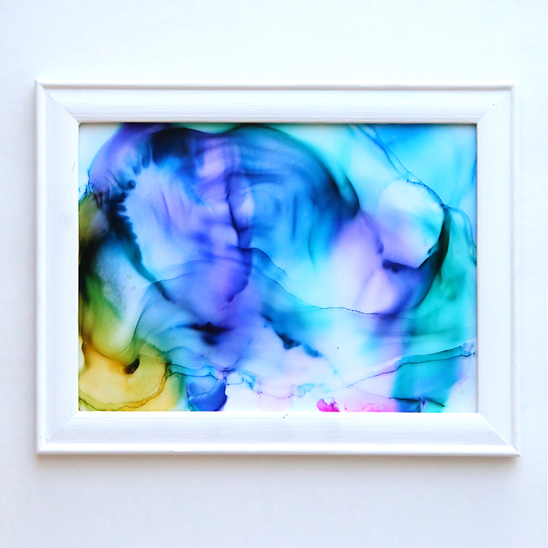 how to make gorgeous fired alcohol ink art it s so easy it s