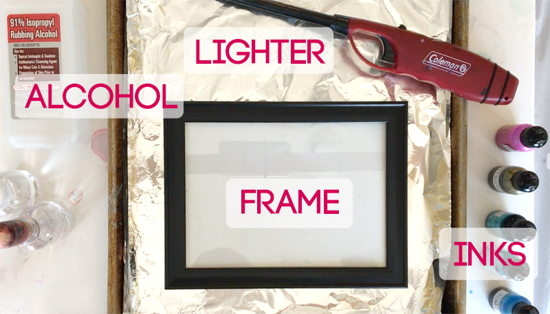 How to make gorgeous fired alcohol ink art {it's so easy!!} - It's