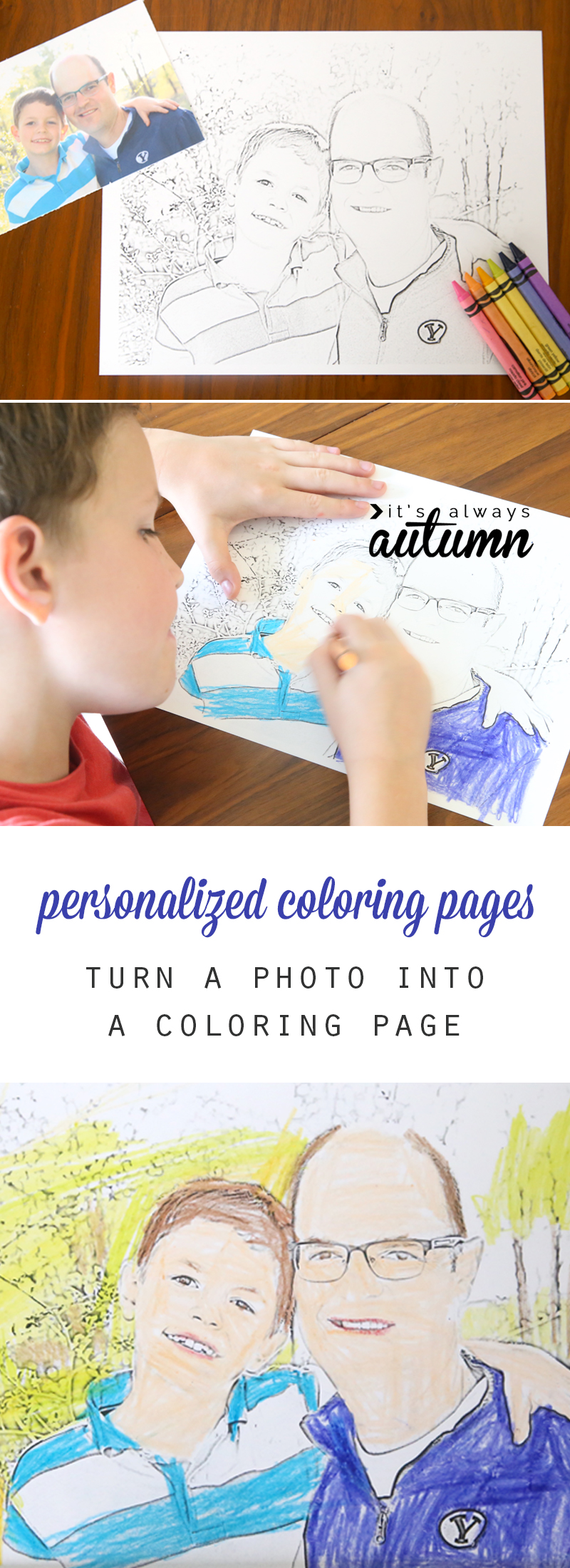 how to make personalized coloring pages for your kids it u0027s