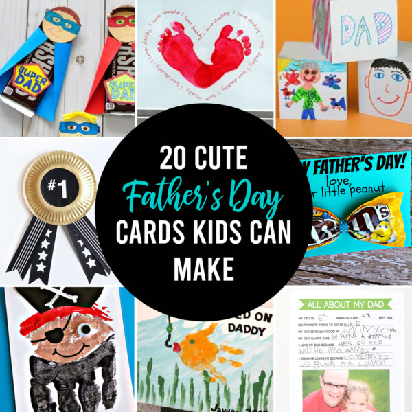 20 adorable Father's Day cards for kids to make