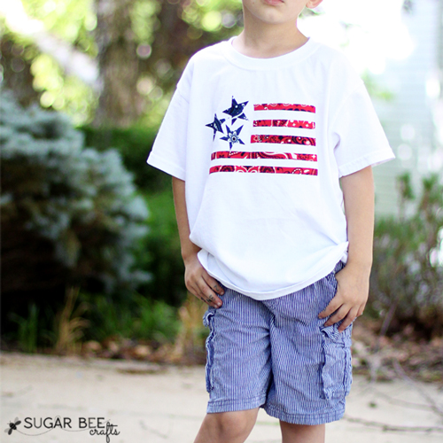 7e61e20c0 13 fun DIY tee shirts for the Fourth of July. 4th of July shirts you