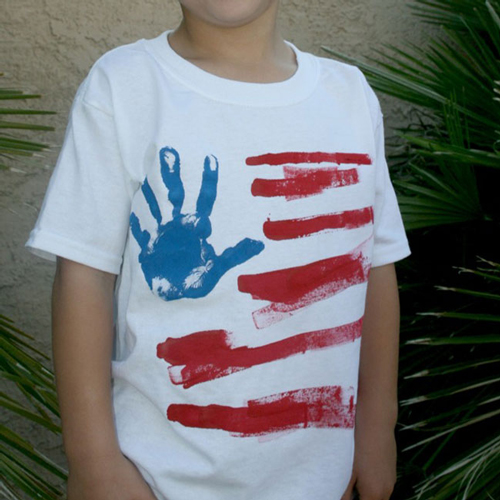 71c22ef418ec5e 13 fun DIY tee shirts for the Fourth of July. 4th of July shirts you