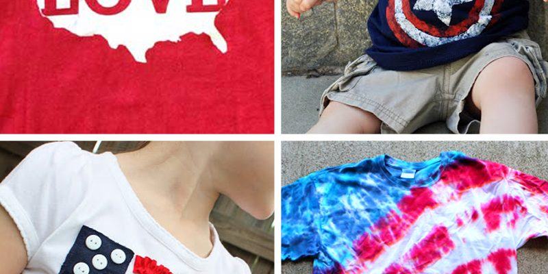 13 fun shirts to make for the Fourth of July
