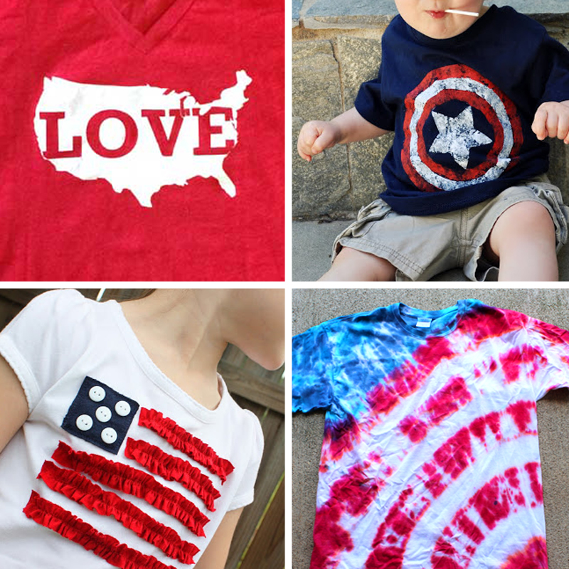 13 Fun Shirts To Make For The Fourth Of July It S Always