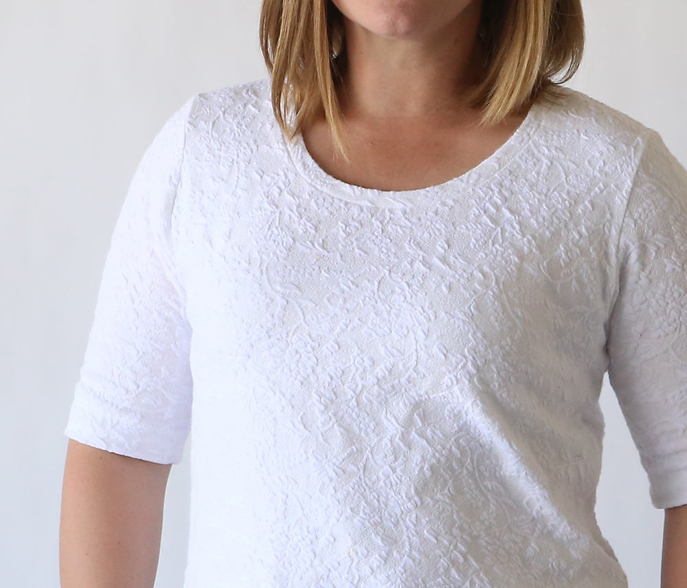 The Classic Tee Free Pattern Elbow Length Sleeves It 39 S