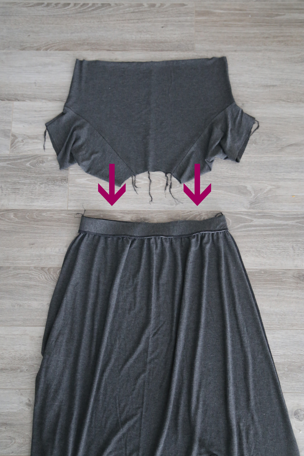 aed79c3d7 how to sew a raglan tee maxi dress