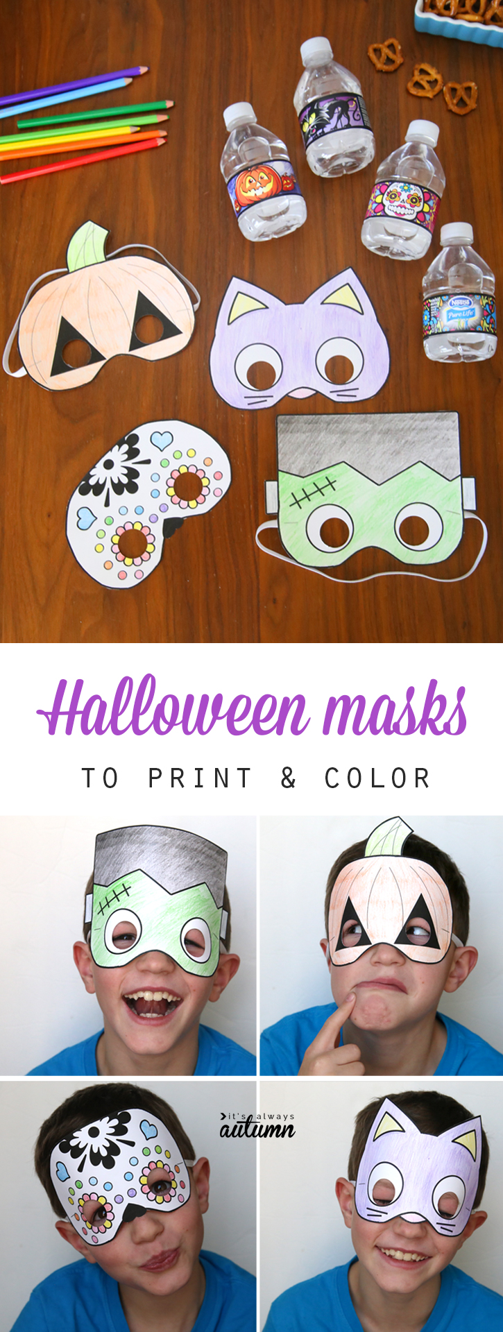 This is a graphic of Adaptable Printable Halloween Craft