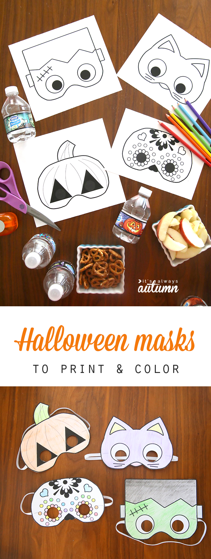 This is a picture of Magic Printable Halloween Craft