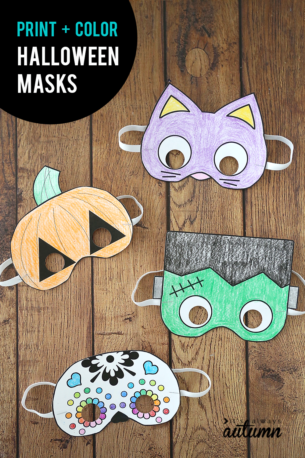 This is a graphic of Monster Printable Halloween Craft