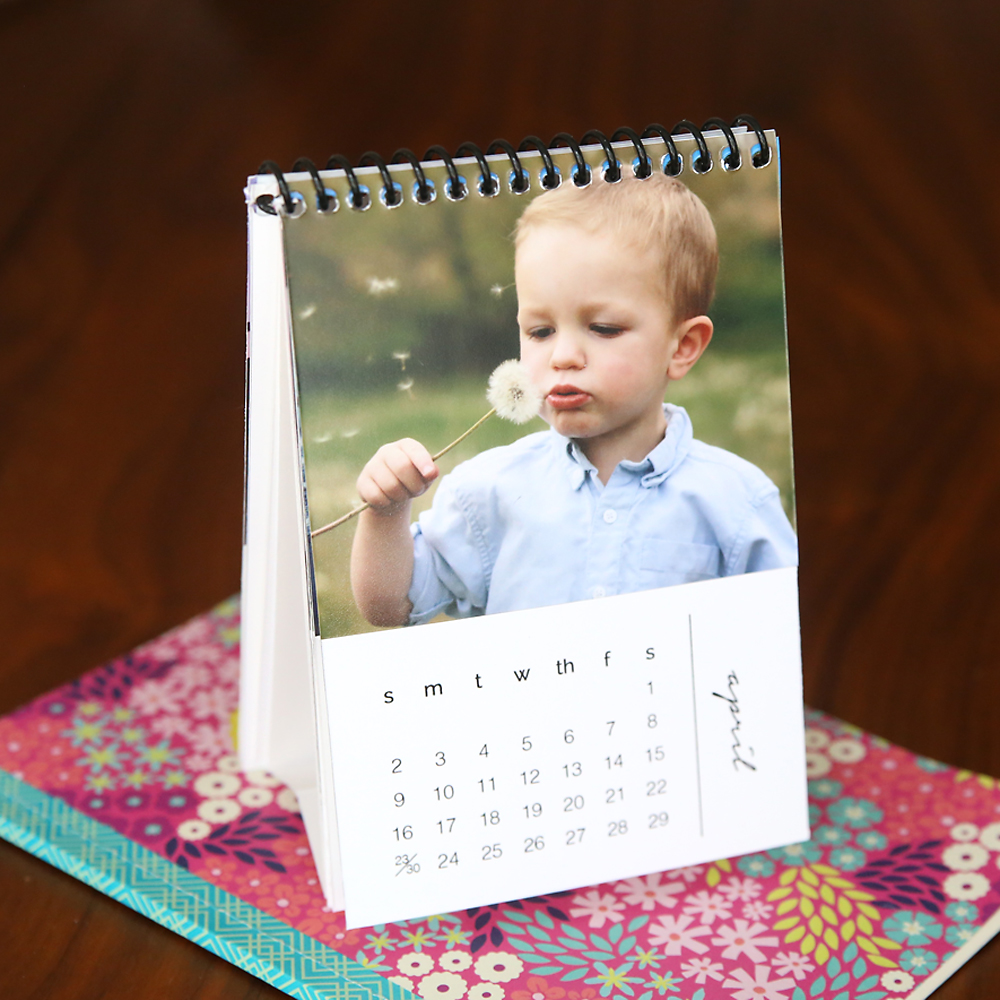 Mini 2017 Photo Calendars. Free Printables That You Can Customize