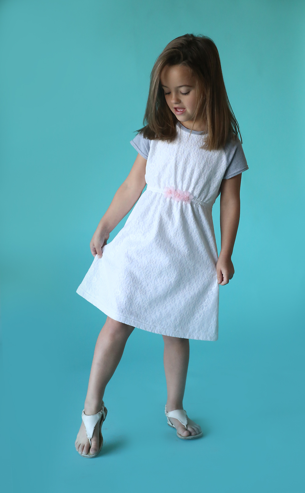 how to make a cute dress without sewing